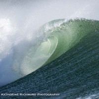 Emerald wave . Northern New England, Empty Wave photo