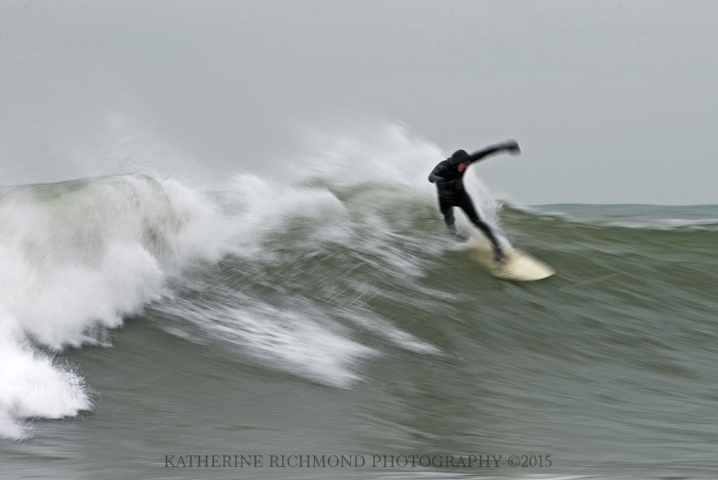 Enjoying the perfect swell. Northern New England, Surfing photo