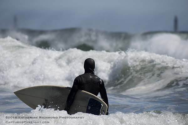,Contimplating the big surf.... Northern New England, Surfing photo
