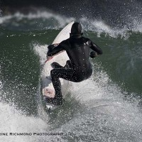 Up the face. Northern New England, Surfing photo