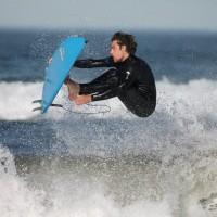 Hanging ten. Northern New England, Surfing photo
