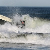 Wipe out..... Northern New England, Surfing photo