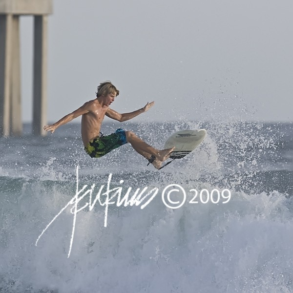 Surfing On Okaloosa Island, Florida. Florida Panhandle, Surfing photo