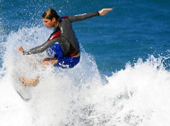 2736-KITE-BCH-04-07. South Florida, surfing photo