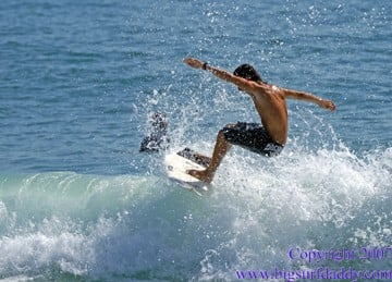 Sebastian Inlet, July 18, 07 Joey Vaccarella almost