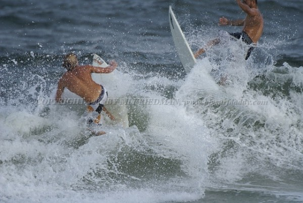 ATLANTIC BLVD POMPANO BCH oops!!. United States, surfing photo