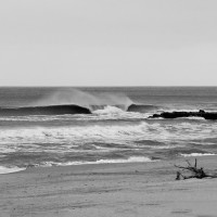 Classic cold February swell hits NJ on Wednesday, Feb