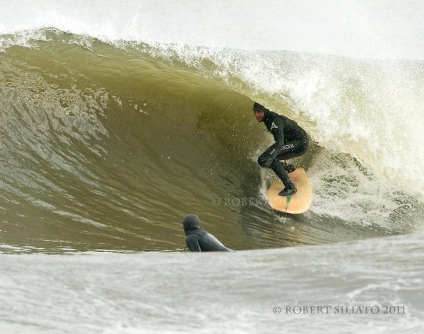 How Jersey Does It! After a little wind swell and a