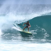 Team Rider Jonny charging over in Bali last week using