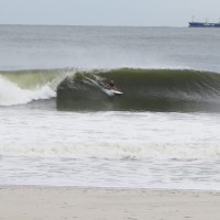 A prefect eastcoast Swell. New York, Surfing photo