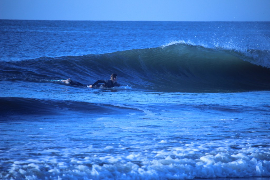 Missed barrels.... New Jersey, Surfing photo