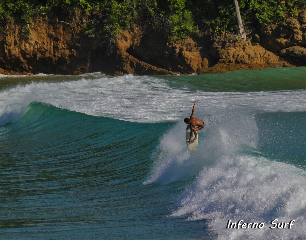 My surf photos at beaches near San Juan del Sur. email:
