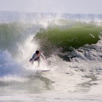 election day swell. Delmarva, Surfing photo