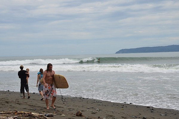 pavones perfection. Costa Rica, Surfing photo