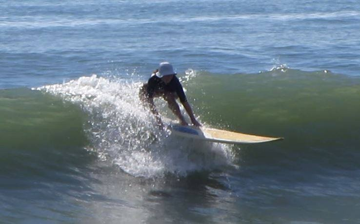 Enjoyinfg the swell Florence is bringing to Florida