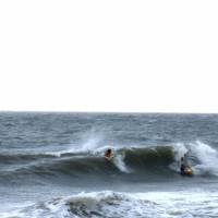 Chesapeake Bay Secret Spot bodyboarding solid lil grinders