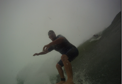 Chino Going left. Southern New England, Surfing photo