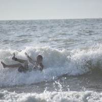 Wipeout on 8/8/2017.. South Carolina, Surfing photo