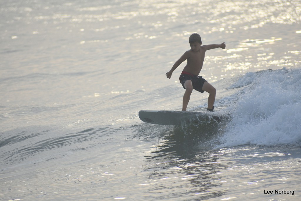 This Young Surfer really has form!