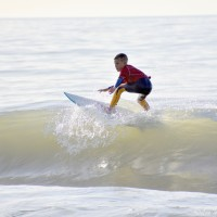 Surfer MAKO MUSILUNAS Winner of Boys Open Bodyboard