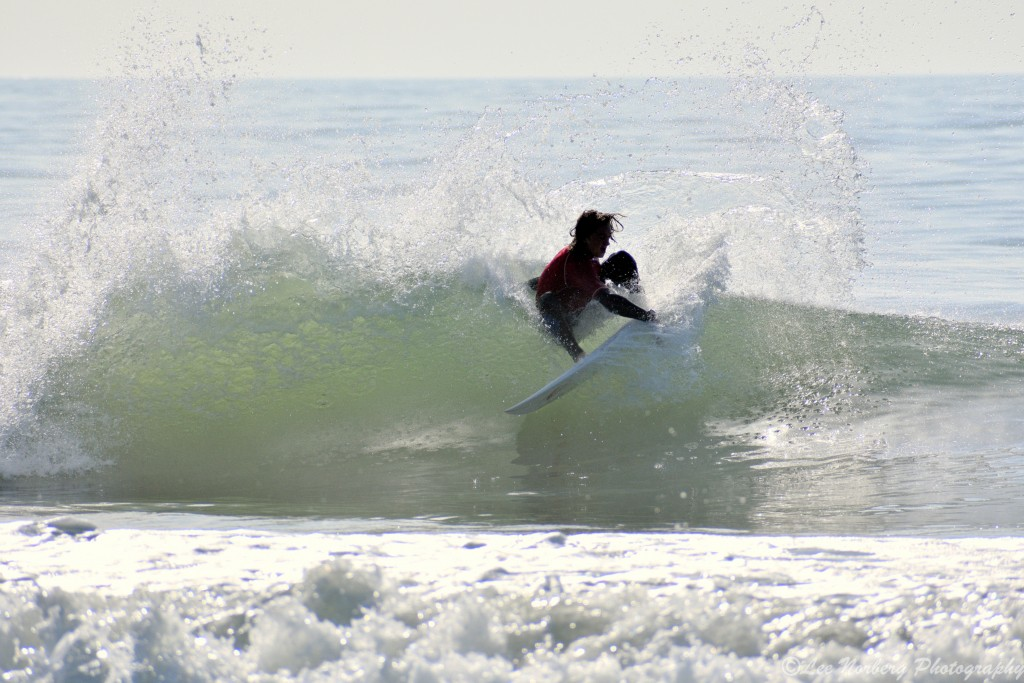 Surfer Tyson Royson in action at O'Neill's East Coast