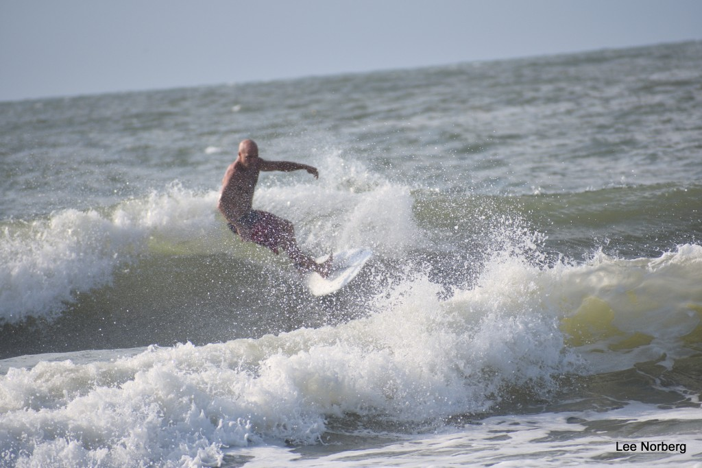 Wes works the Wave on 8/8/2017.. South Carolina, Surfing photo