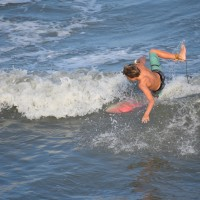 Another wipe-out on the Wave.. South Carolina, Surfing photo