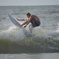 Riding High. South Carolina, Surfing photo