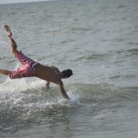 Water Handstand!. South Carolina, Surfing photo