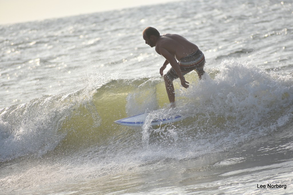 Riding the Curl. South Carolina, Surfing photo
