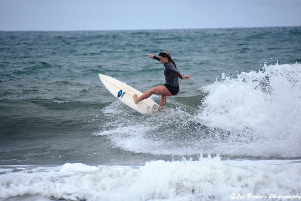 Surfer Bree Labiak is confident in her form as she