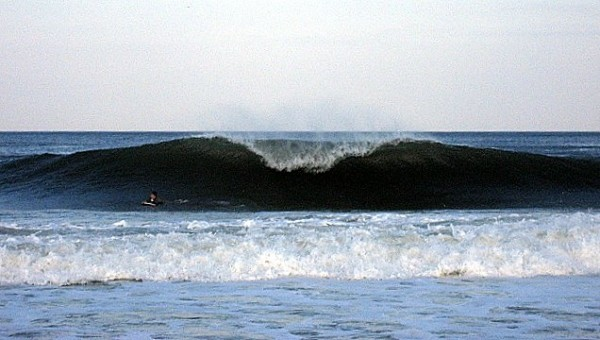A-Frame. New Jersey, surfing photo