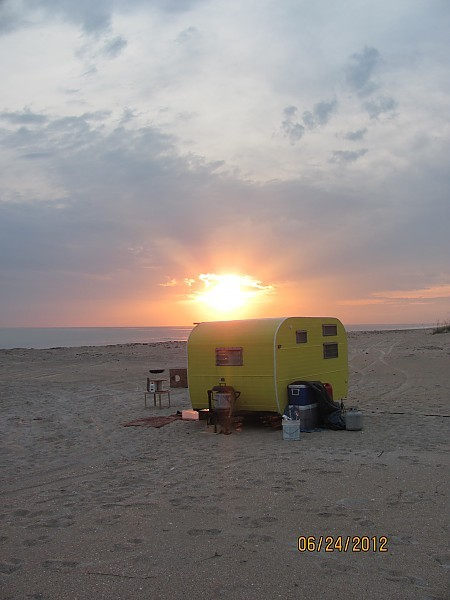 Cape lookout Camping. United States, Scenic photo
