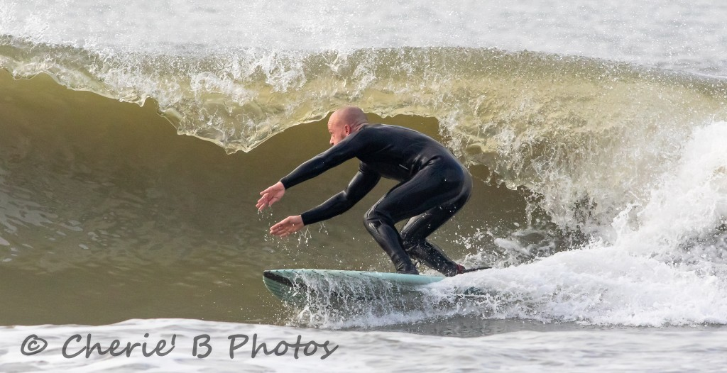 Cherry Grove Pier . Delmarva, surfing photo