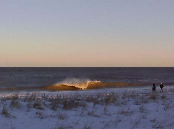 Snowy. Delmarva, Empty Wave photo