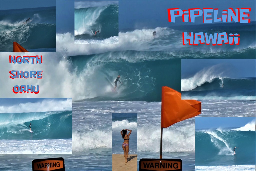 Pipeline Poster 20x30 inch Jan 2020. Oahu, Surfing photo