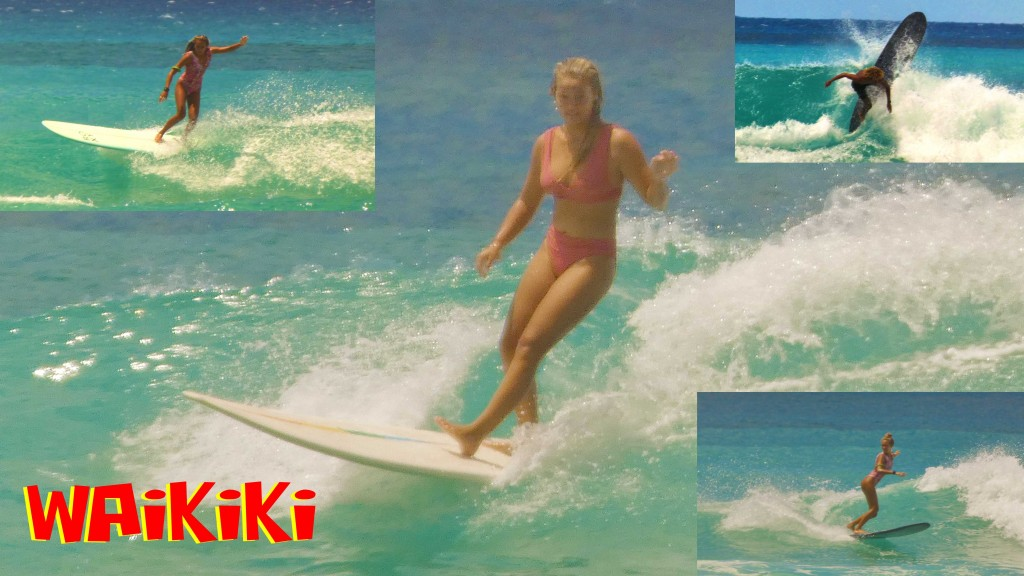 2-3 Waikiki. Oahu, Surfing photo