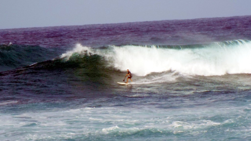 Sunset Beach SUP solo. Oahu, SUP photo