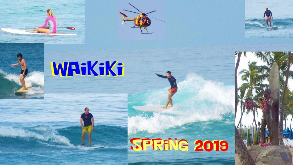 Spring Waikiki 2019. Hawaii, Surfing photo