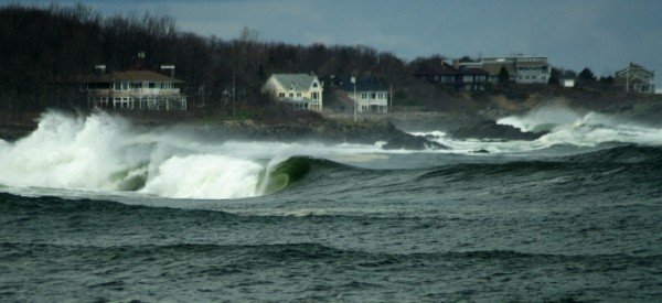 Wasn't Jersey But.... Northern New England, Empty Wave photo