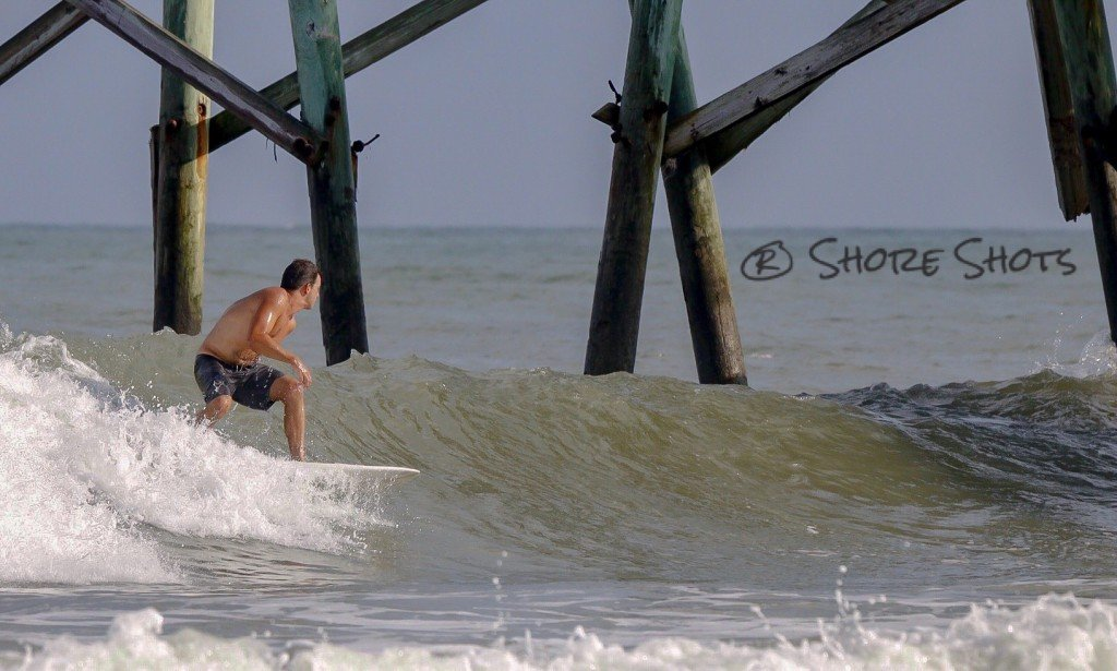 Logan Stanton lining up a left. 