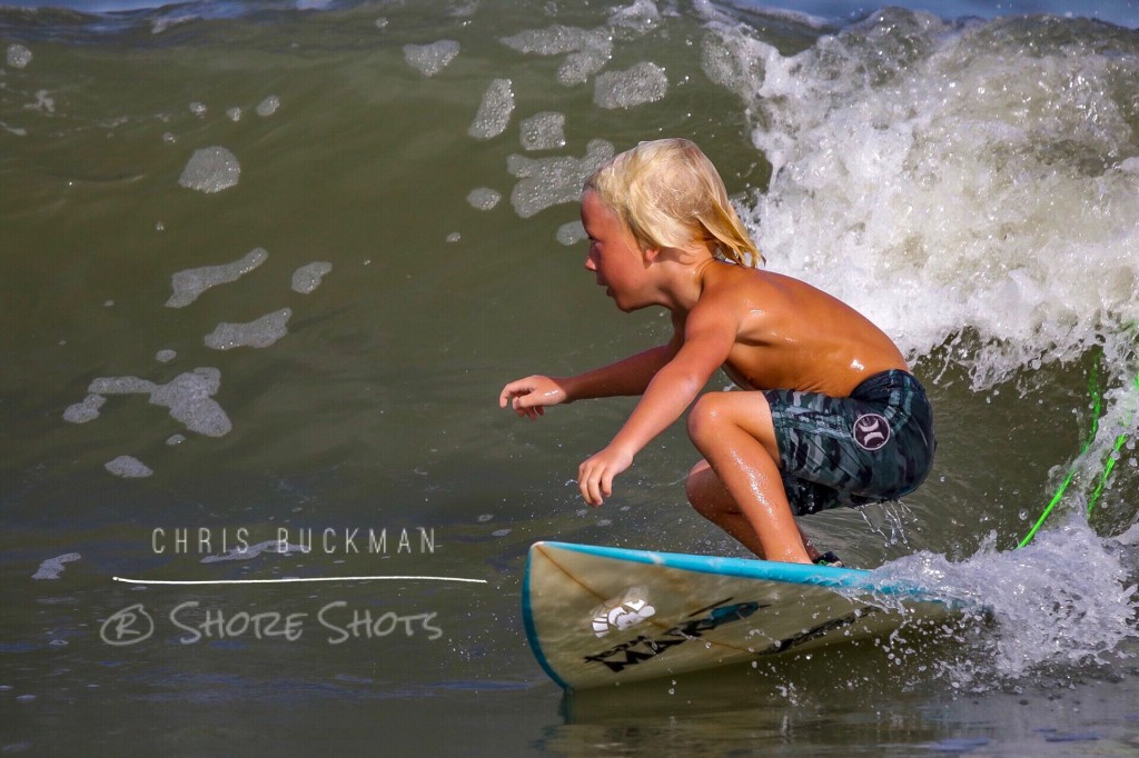 Super Grom, 5 year old Brad Curren has got those Good
