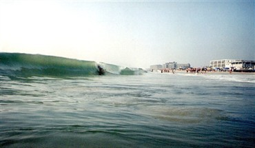Me in Bethany summer swells. Delmarva, surfing photo