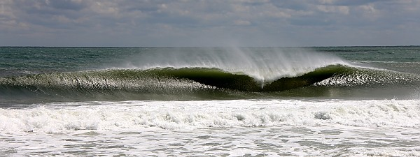 South Swell A-frame. Virginia Beach / OBX, Empty Wave photo