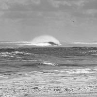 Kitty Hawk 12/21/12. Virginia Beach / OBX, Empty Wave photo