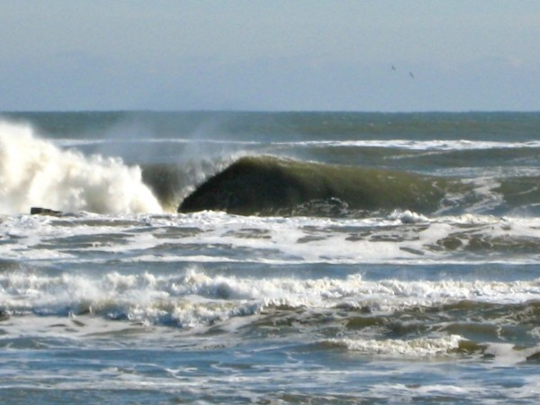 First Hollow winter lefthander. Virginia Beach / OBX, Empty Wave photo