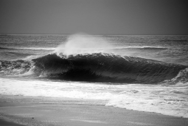 April Fools Day 2011 Long Island. New York, Empty Wave photo