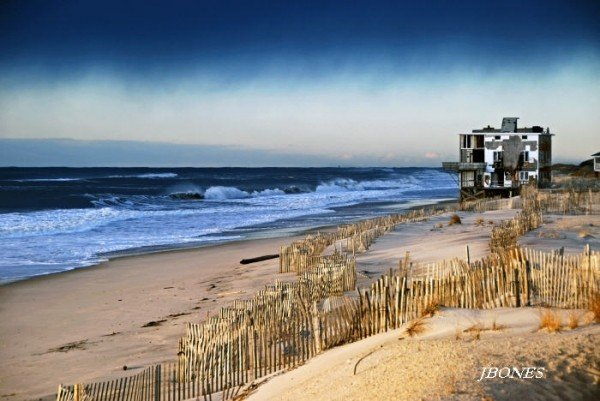 Erosion,eastern L.i.. New York, surfing photo