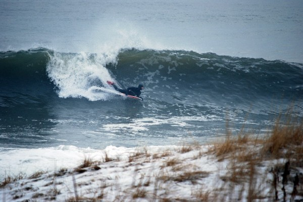 New York 1-1-10 Qbell. New York, Bodyboarding photo