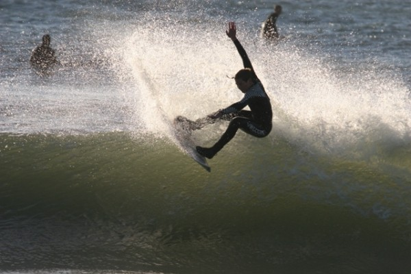 Evan Barton WB NC. Southern NC, surfing photo